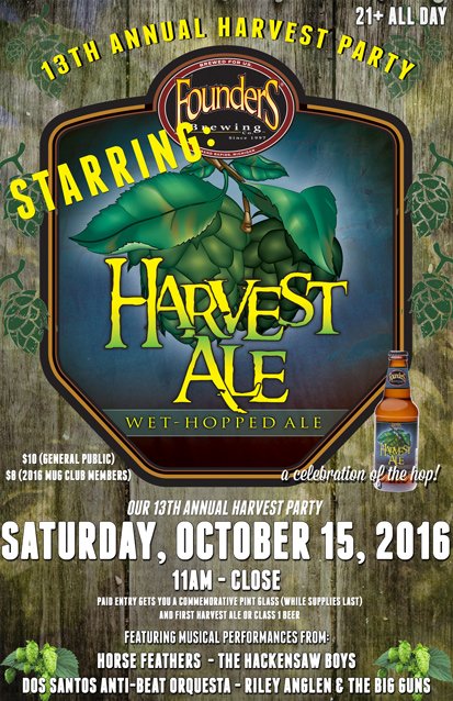 13th Annual Harvest Party – A Celebration of the Hop